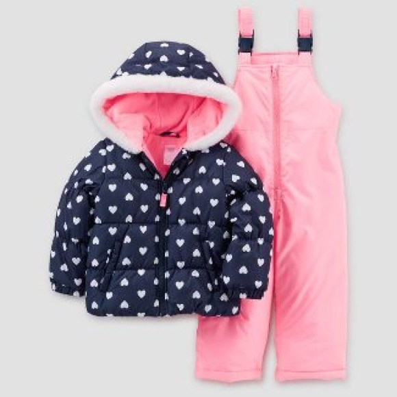8d26a1178 Carter's Matching Sets | Carters Toddler Girls Snow Suit Set | Poshmark